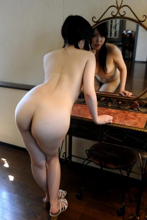 鏡 ヌード 45