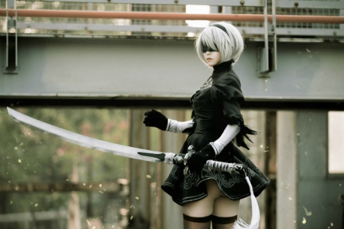 NieR:Automata 2B cosplay 01