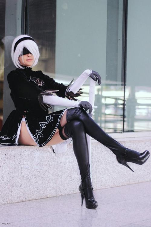 NieR:Automata 2B cosplay 02