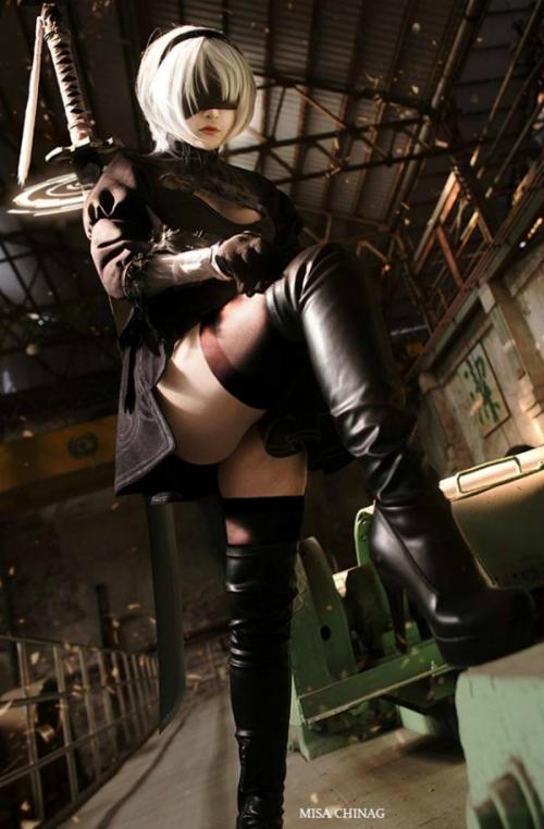 NieR:Automata 2B cosplay 04