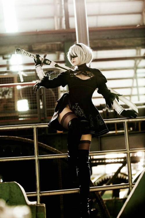 NieR:Automata 2B cosplay 05