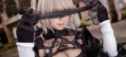 NieR:Automata 2B cosplay 08