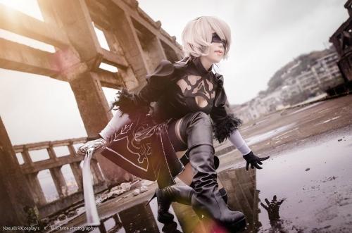 NieR:Automata 2B cosplay 09