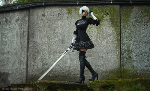 NieR:Automata 2B cosplay 12