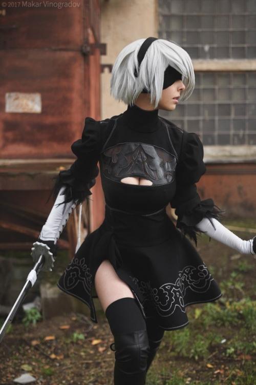 NieR:Automata 2B cosplay 14
