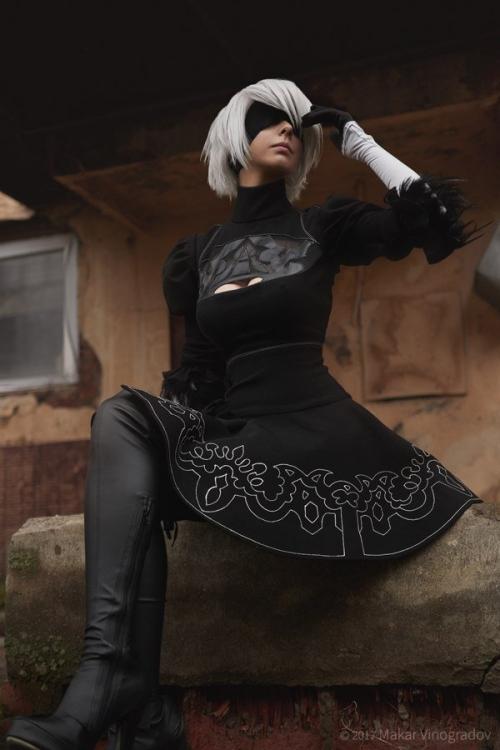NieR:Automata 2B cosplay 15