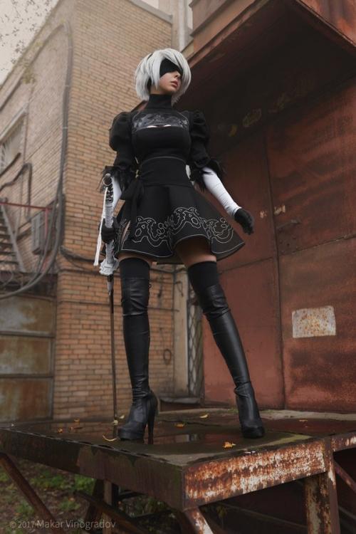 NieR:Automata 2B cosplay 16
