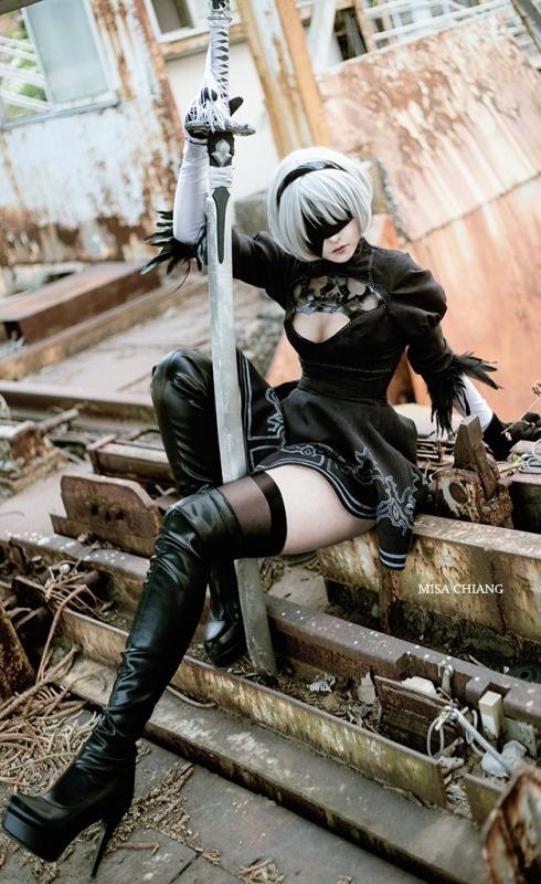 NieR:Automata 2B cosplay 17