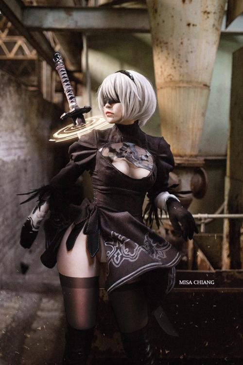 NieR:Automata 2B cosplay 18