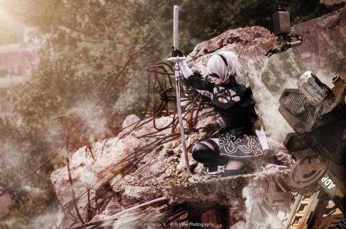 NieR:Automata 2B cosplay 19