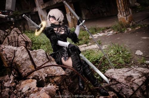 NieR:Automata 2B cosplay 22