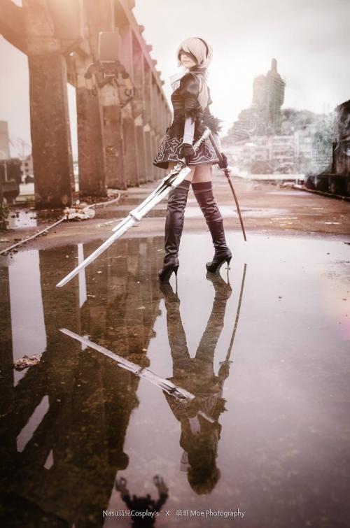 NieR:Automata 2B cosplay 25