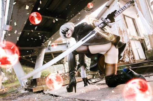 NieR:Automata 2B cosplay 28