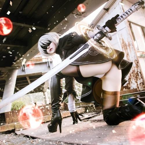 NieR:Automata 2B cosplay