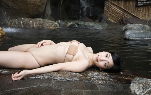 温泉 おっぱい エロ画像まとめ 39