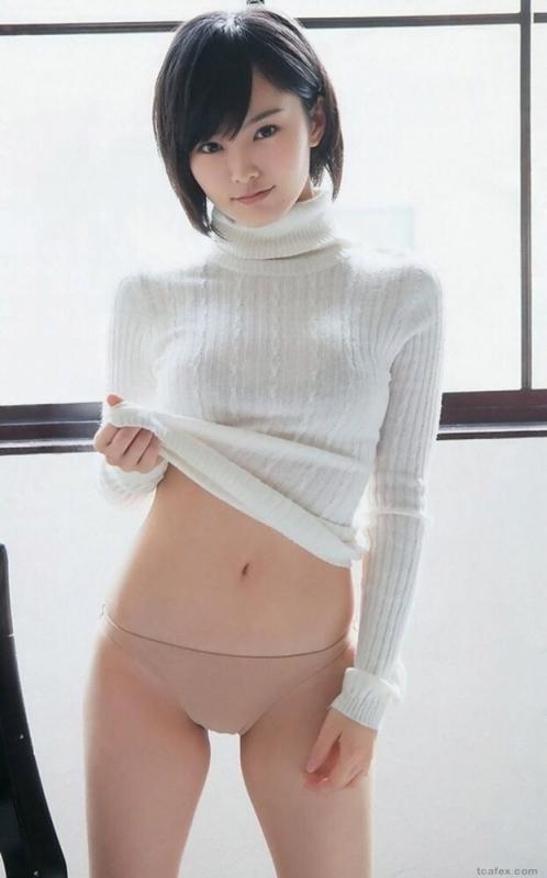 ニット着衣 おっぱい 02