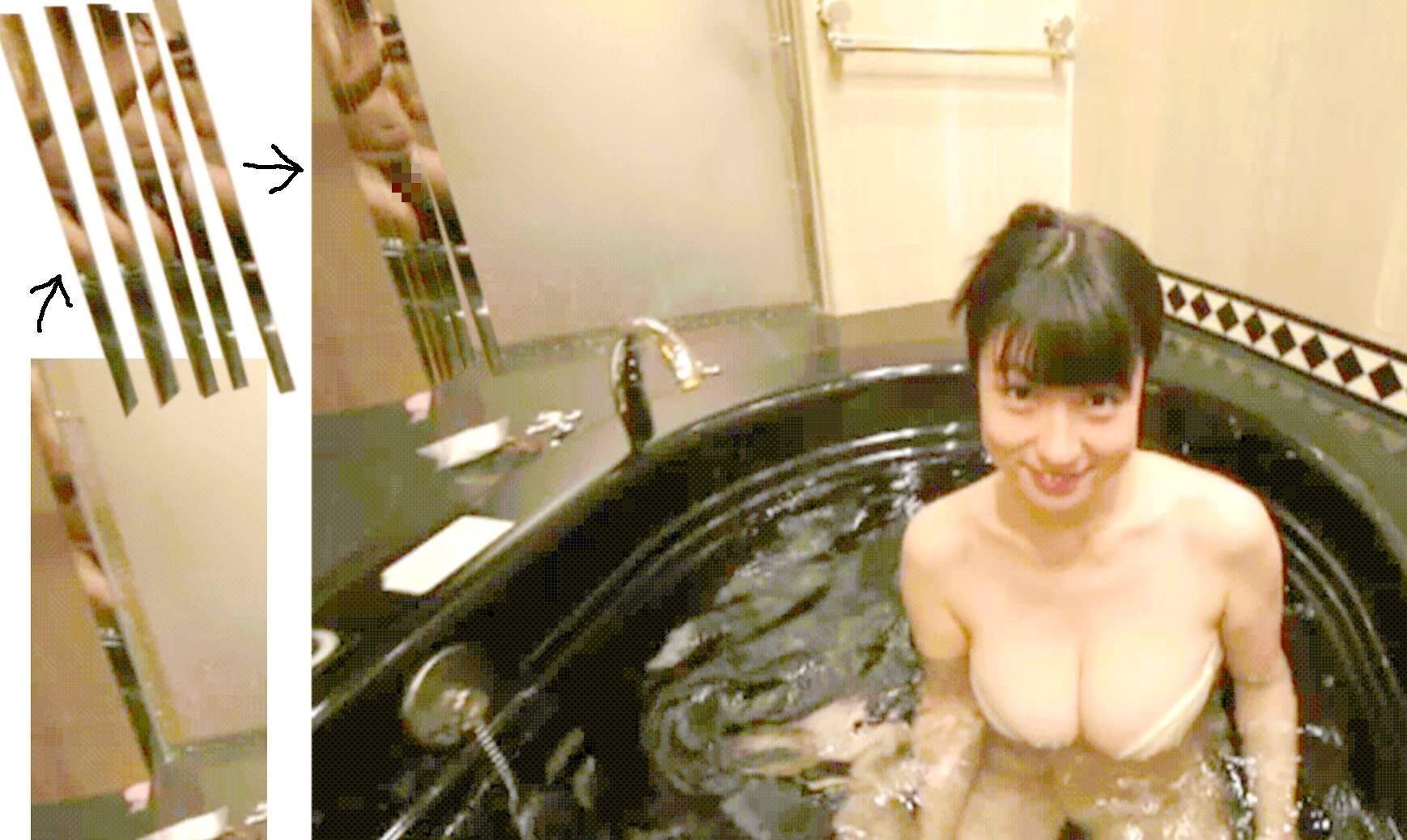 滝沢乃南 『ありがとね』IVに全裸撮影カメラマンが映りこんでる