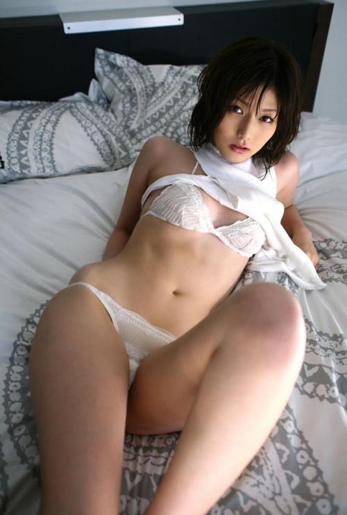 白 ランジェリー 15