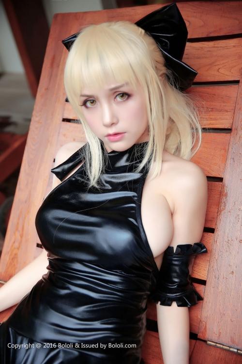 Xia Mei Jiang Fate/hollow ataraxia セイバーオルタ 水着Ver. コスプレ 09