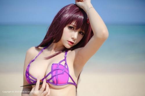 Xia Mei Jiang  FateGO 水着スカサハ コスプレ 13