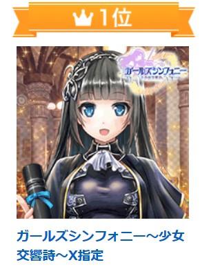 ガールズシンフォニー~少女交響詩~X指定 オンラインゲーム
