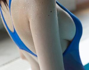 暑くなってきたので水着姿の女の子のエロ画像part2