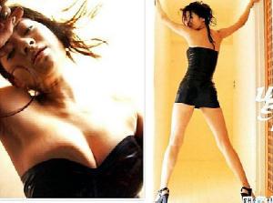 【厳選エロ画像40枚】篠原涼子のエロすぎるおっぱいと胸チラ、パンチラ、濡れ場セクロス