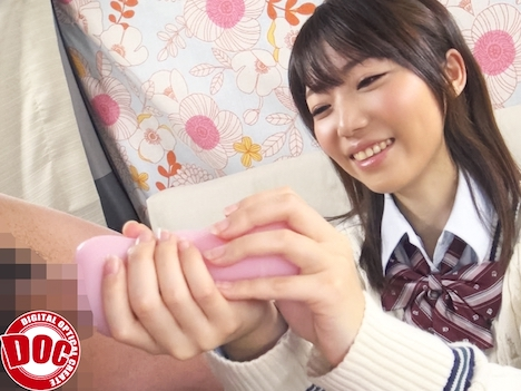 JKにオナホを渡し「僕のチ○コを思いっきりシゴいて下さい!」 3 苑田あゆり
