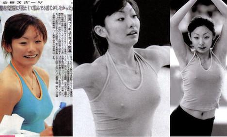 実は乳首ポロリしてる女芸能人 7