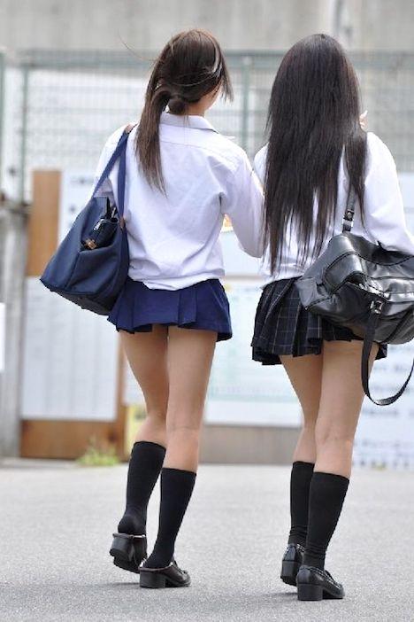 【画像】女子高生のえっちなえっちなこの部分好きなヤツwwwwwww
