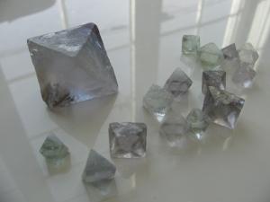 フローライト結晶