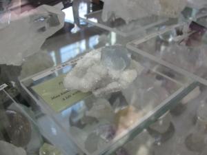 フローライト水晶母岩付
