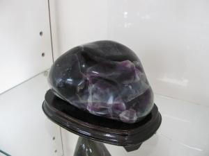 フローライト紫緑混置石