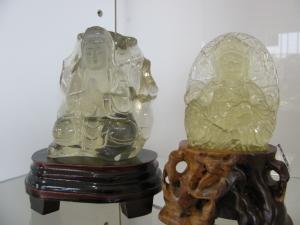 シトリン彫り物