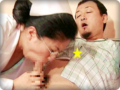 【ドラマ/ヘンリー塚本】入院患者のマラを黒ずんだ生殖器で咥える看護婦長||