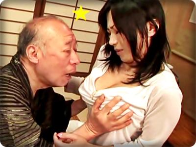 【ドラマ/北原夏美】義父老人のマラに喘ぐ巨乳嫁~禁断の肉欲介護~||