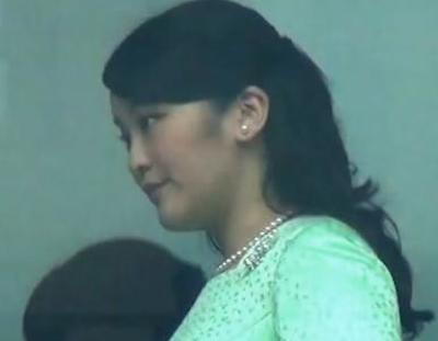 【エンタメ画像】【画像】眞子さまの胸のボリュームがハンパねえええええええええええええ