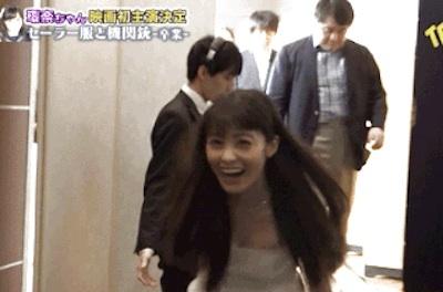 【エンタメ画像】【GIF画像】この橋本環奈、ポロリータしそうで激シコ!!!!!!!!!!!!!!!!!!!!!!!!!!!!