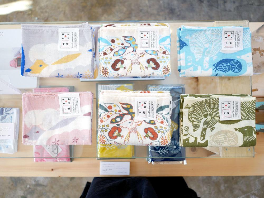 イラストレーター福田利之さんワークショップと十布(テンプ)ポップアップイベント2017年2月Gouache(ガッシュ)福岡