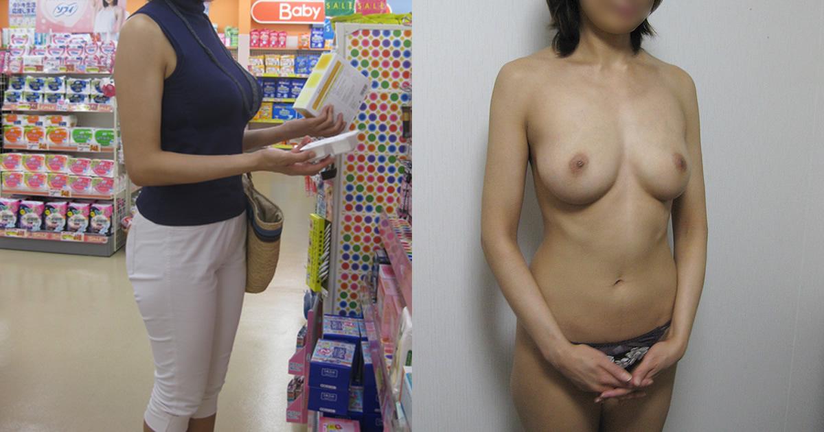 これぞ女の子の使用前・使用後www着衣と裸の画像を並べると恐ろしく抜けるwwww