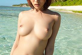 3次元 勝手に一人でヌーディストビーチ!海での野外露出エロ画像まとめ 36枚