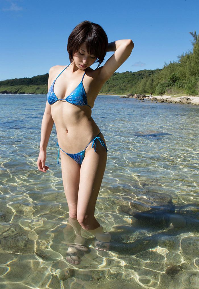 AV女優 海 グラビア 画像 60