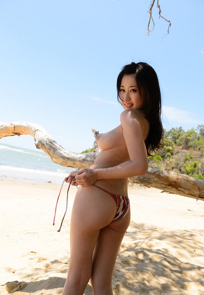 AV女優 海 グラビア 画像 76