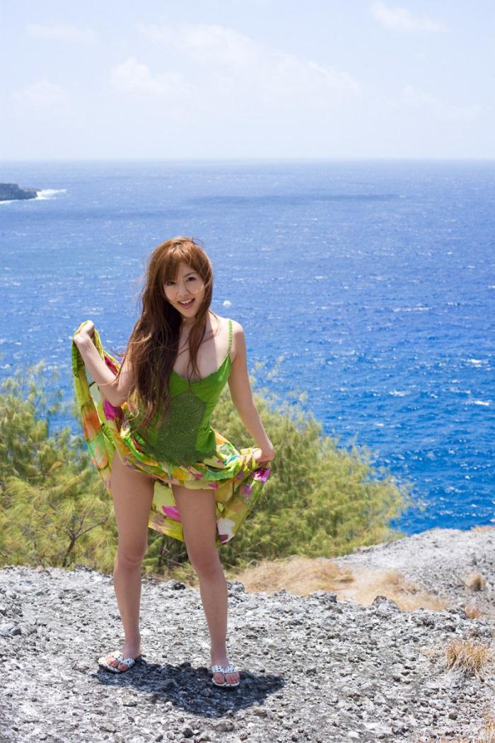 AV女優 海 グラビア 画像 8