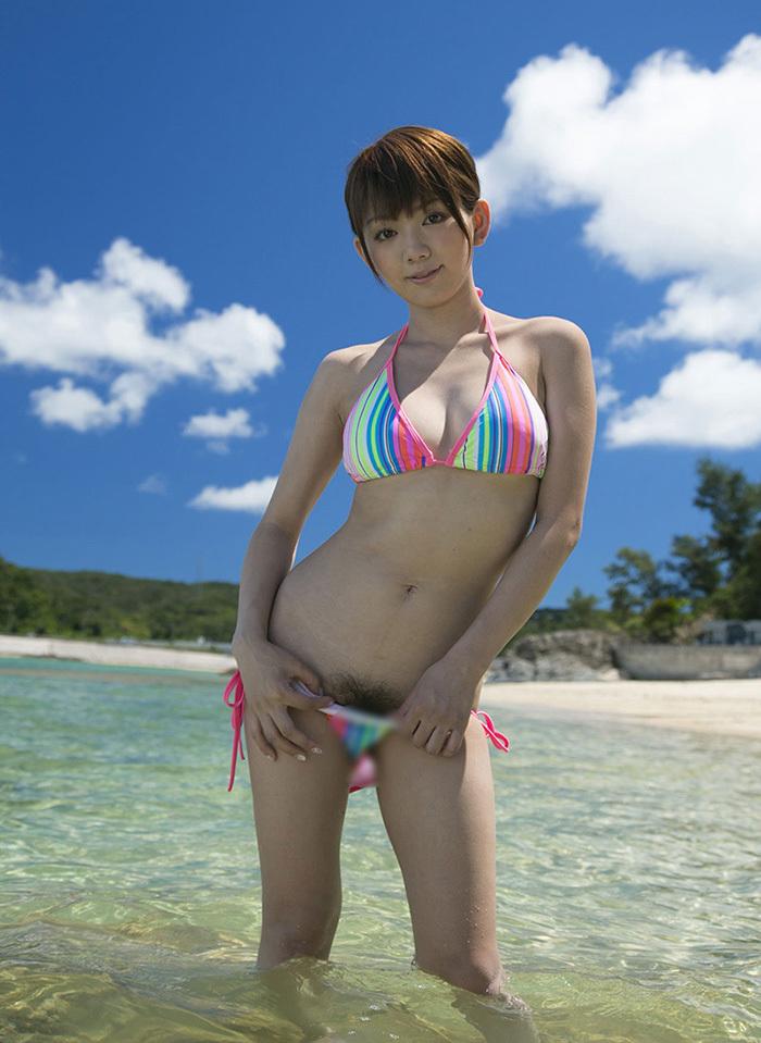AV女優 海 グラビア 画像 93