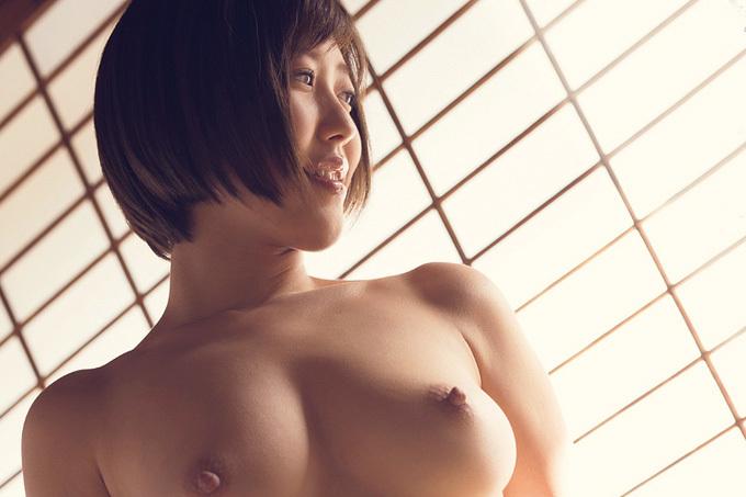 水野朝陽 日本一の美尻ヘアヌード