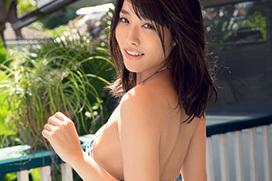 美麗グラビア × 今野杏南 背中ヌード