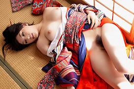 セックスやりてええ!和服美女のエロ画像25枚