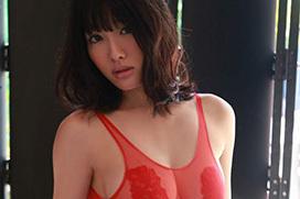 超名作グラビア劇場 今野杏南(25)と赤の透け透けレオタード。画像×19