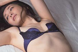 ランジェリー・下着撮影…週刊現代の山崎真実のグラビアエッチ画像が三十路の色気www